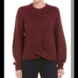 Joie Stavan Metallic Detail Creneck Sweater